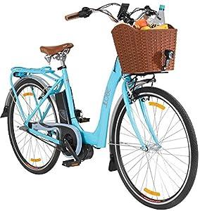 LLOBE E-Bike »Blue Glider, 71,12 cm (28 Zoll)« mit Mittelmotor 71,12 cm (28 Zoll), 50 cm