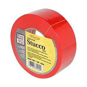 Cantech 35002 outdoor stucco tape 48mm adhesive tapes for Exterior masking tape