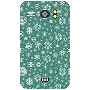 Micromax A 110 blue starry Phone Cover - Matte Finish Phone Cover
