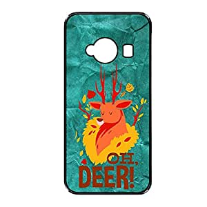 Vibhar printed case back cover for Xiaomi Redmi 2 Prime OhDeer