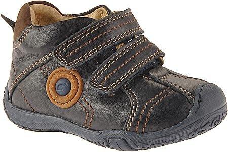 Primigi Derek Hook-And-Loop Shoe (Infant/Toddler),Blue (3037677),20 Eu (4-4.5 M Us Toddler) front-10850