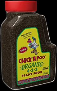 Chickapoo Organic 4-2-3 Plant Food 1.5lbs