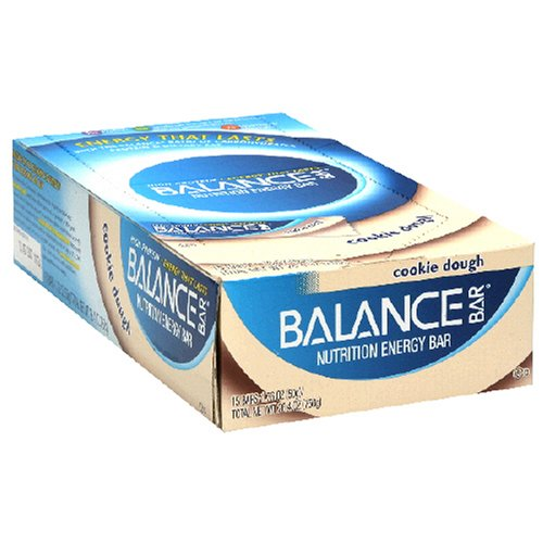 Balance Bar Nutrition Energy Bar, Cookie Dough, 1.76-Ounce Bars (Pack of 15)