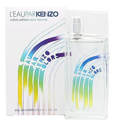 Kenzo Colors Pour Homme - Eau de Toilette, da uomo, Spray, 50 ml