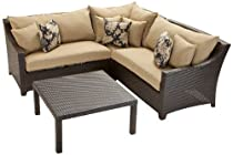Big Sale RST Outdoor Delano Sectional Patio Furniture, 4-Piece