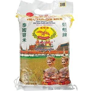 Amazon.com : Dragonfly Thai Jasmine Rice, 50-Pound : Rice