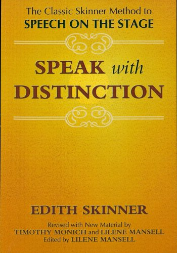 Speak With Distinction (Textbook and CD) unknown Edition...