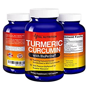 Turmeric Curcumin with BioPerine - #1 Strongest Potency with Greatest Support - 2 Month Supply -Order Risk Free