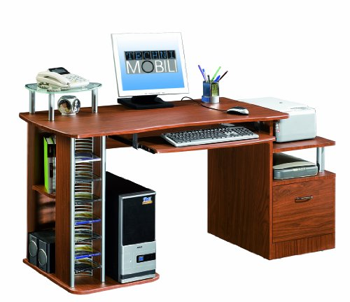 Buy Low Price Comfortable Mad Tech 30x24x60 Mahogany 100% Mdf Construction Computer Office Desk Table (B004W0MHS2)