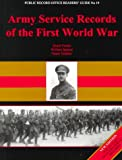 img - for Army Service Records of the First World War (Public Record Office Readers' Guide) book / textbook / text book