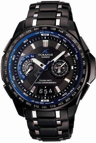 CASIO (カシオ) 腕時計 OCEANUS Classic オシアナス クラシック タフソーラー電波時計 タフムーブメント MULTIBAND 6 マルチバンド 6 OCW-T750TDB-1AJF メンズ