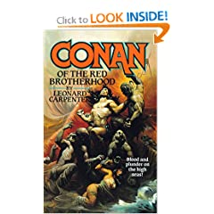 Conan of the Red Brotherhood (Conan the Barbarian) by Leonard Carpenter
