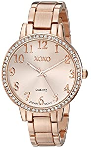 XOXO Women's XO5846 Analog Display Analog Quartz Gold Watch
