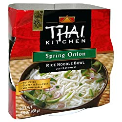 Thai Kitchen Noodle Bowl, Spring Onion, 2.4-Ounce Unit (Pack of 6)