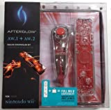 Wii Afterglow Remote and Nunchuck Bundle – Red