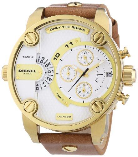 Beseriet diesel dz7288 montre homme quartz - Montre diesel bracelet cuir marron ...