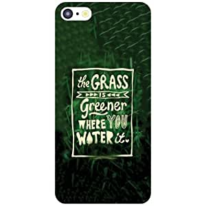 Apple iPhone 5C Back Cover - Grass Is Green Designer Cases
