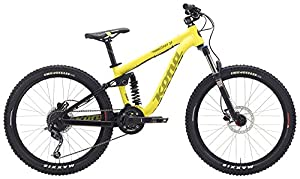 Kona Stinky 24 childrens bike 24 inch yellow 2015