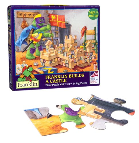 Cheap Great American Franklin Builds a Castle Floor Puzzles (B0000541RE)