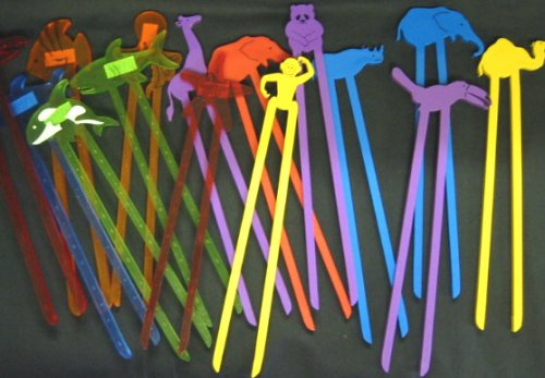 Animal Cheater Chopsticks, Pack of 10 #10050