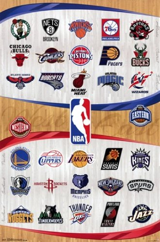 Sale alerts for Trends International NBA - Logos 13 Poster Print (22 x 34) - Covvet