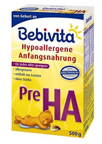 Bebivita-Pre-HA-Hypoallergene-Anfangsmilch-von-Geburt-an-4er-Pack-4-x-500g