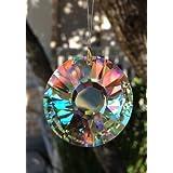 40mm Swarovsk Sun Disc Crystal Prisms ~ Swarovski