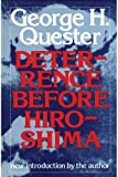 img - for Deterrence before Hiroshima book / textbook / text book