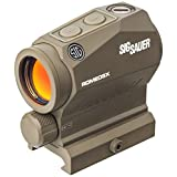 OPMOD Sig Sauer Romeo5 X 1x20mm Compact Red Dot Sight, 2 MOA Dot Reticle, Flat Dark Earth SOR52111