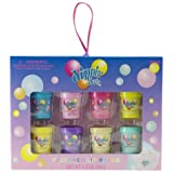 Dippin Dots 8 Pieces Flavored Lip Balm Set (Cotton Candy Rasberry Sherbert Watermelon Ice Lemon Lime Sherbet Banana...