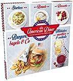 Coffret American Diner: Plus de 100 recettes Made In USA