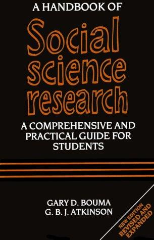 A Handbook of Social Science Research