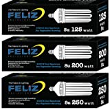 Feliz 125 Watt CFL Grow Light 6500K with Socket