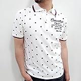 (コンバース)Converse 総星柄 半袖 ポロシャツ