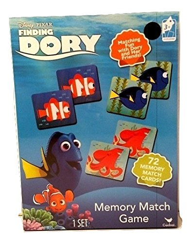 [Dory Finding Nemo Memory Match Game Kids Toy Toddlers] (Finding Nemo Costume Homemade)