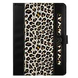 Vangoddy 8 Zoll Protective Tasche and Schutzhülle Buch Stil Trage Tasche cover Für Odys Neo X 8 20,3 cm (8 Zoll) Tablet-PC (Leopard)
