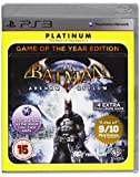 Batman Arkham Asylum Game Of The Year Edition Platinum (Sony PS3)