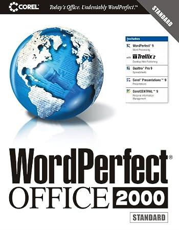 WordPerfect Office 2000 Standard