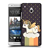 Head Case Designs Autumn Fancy Unicorns Chubby Collection Protective Snap-on Hard Back Case Cover for HTC One mini