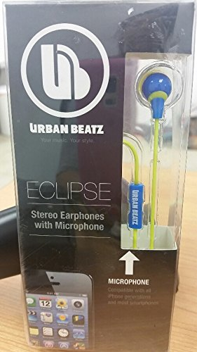 Urban Beatz Eclipse Earbuds Olympian Blue