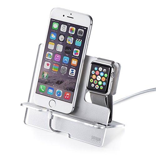 Apple Watch&iPhone用充電スタンド(200-STN021S)