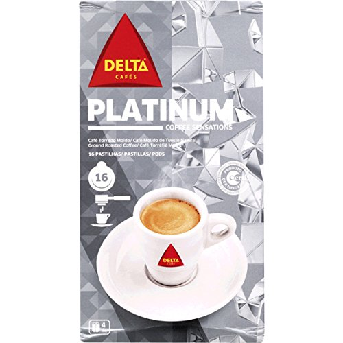 Buy DELTA - PLATINIUM - SINGLE SERVING ESE 44mm Pods - 4 x 16 ESE pods (TOTAL = 64 ESE pods) by Delta Cafés - CAMPO MAIOR - PORTUGAL