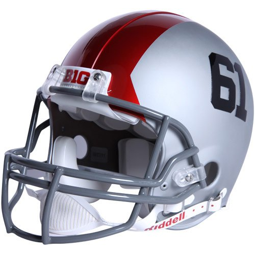 Ncaa Riddell Ohio State Buckeyes Authentic Pro Combat Football Helmet front-247812