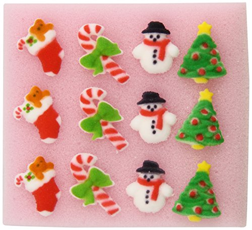 Oasis Supply, Merry Miniatures Molded Sugar Assortment - 12 count - 1