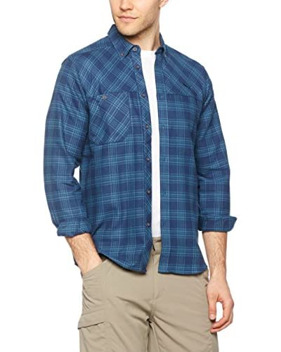 Salewa Camicia Uomo Puez Flannel Pl M L/S Srt [Blu]