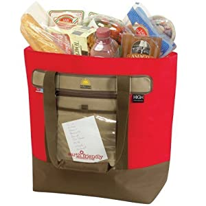 California Innovation - Reusable Thermal Grocery Tote (Red)