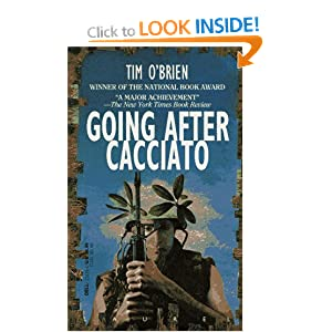 a literary analysis of going after cacciato by tim obrien Literary before writing his award-winning going after cacciato, tim o'brien gave us this searing, intensely personal account of his year as a foot soldier in vietnam the author takes us with him.