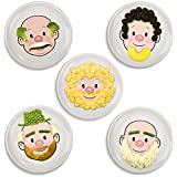 Fred and Friends FOOD FACE Kids' Dinner Plate