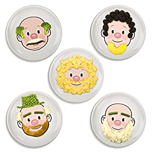 Fred & Friends Mr Food Face Plate