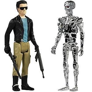 (Set) Universal Collectible T800 Terminator & Endoskeleton Action Figures
